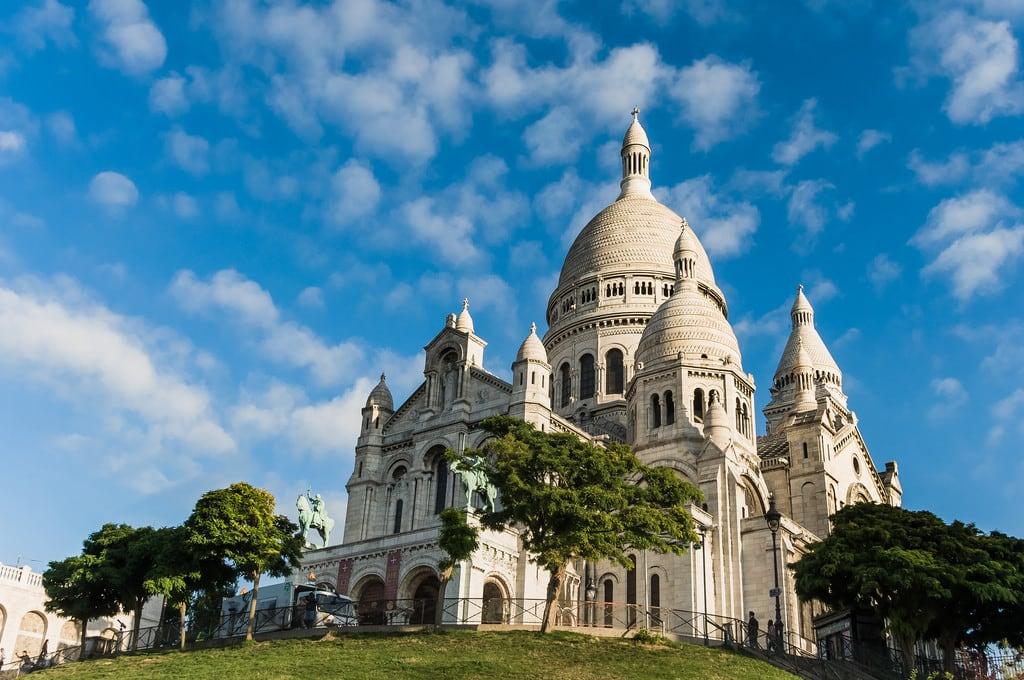 Basilique du Sacré-Cœur 的形象. paris france basilica montmartre basilique sacredheart sacrécœur linkedto