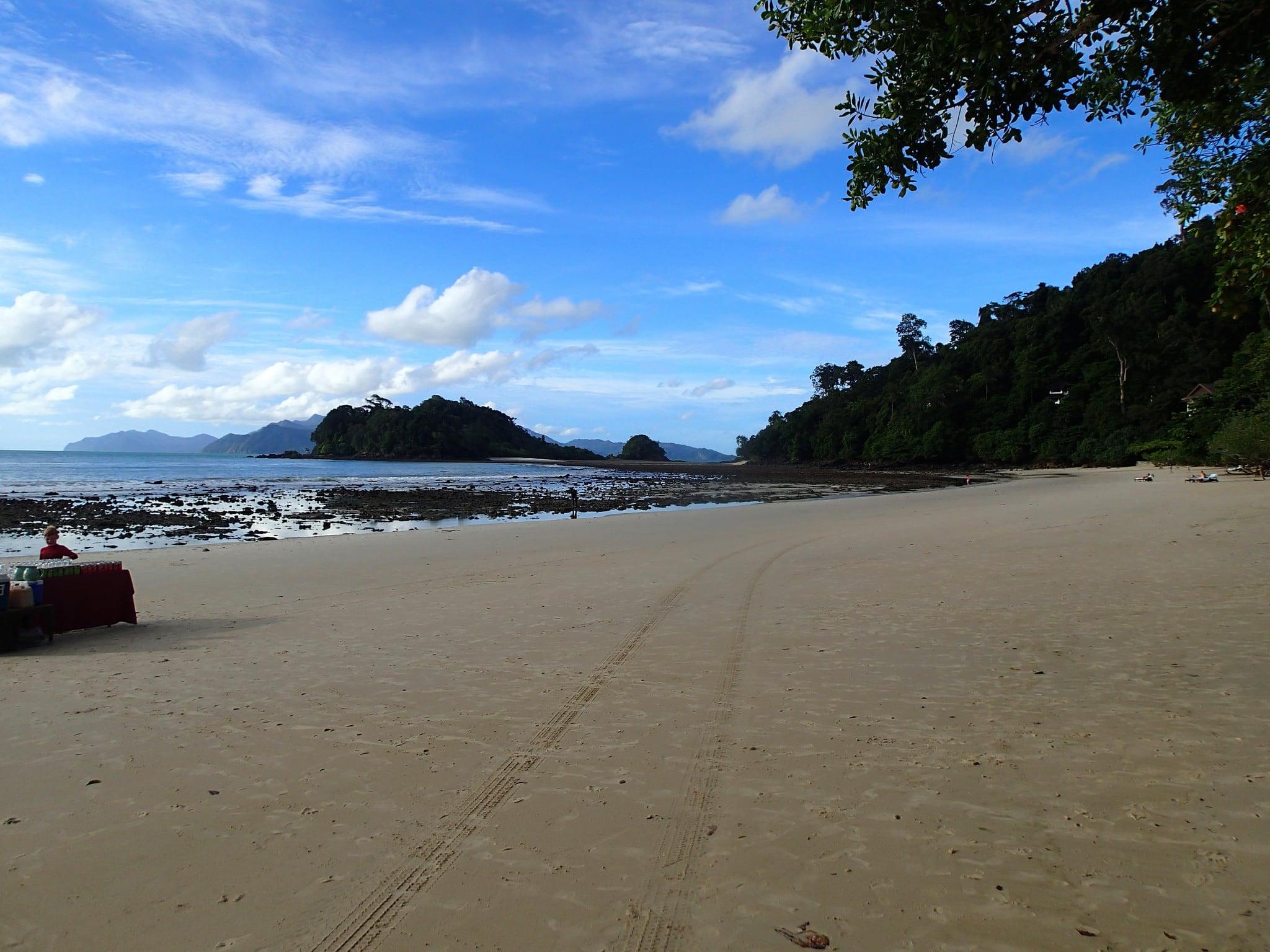 Cabana on Datai Beach 1161 Méter hosszú strand képe.