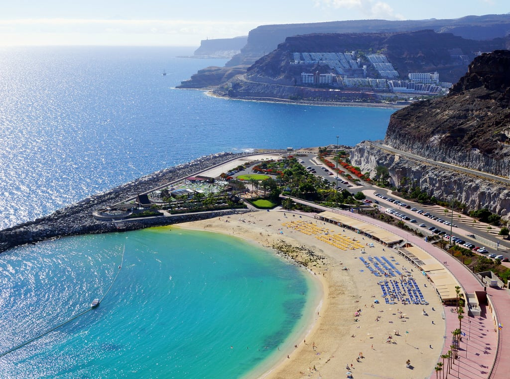 Hình ảnh của Playa de Amadores. sea beach grancanaria puertorico cliffs amadores