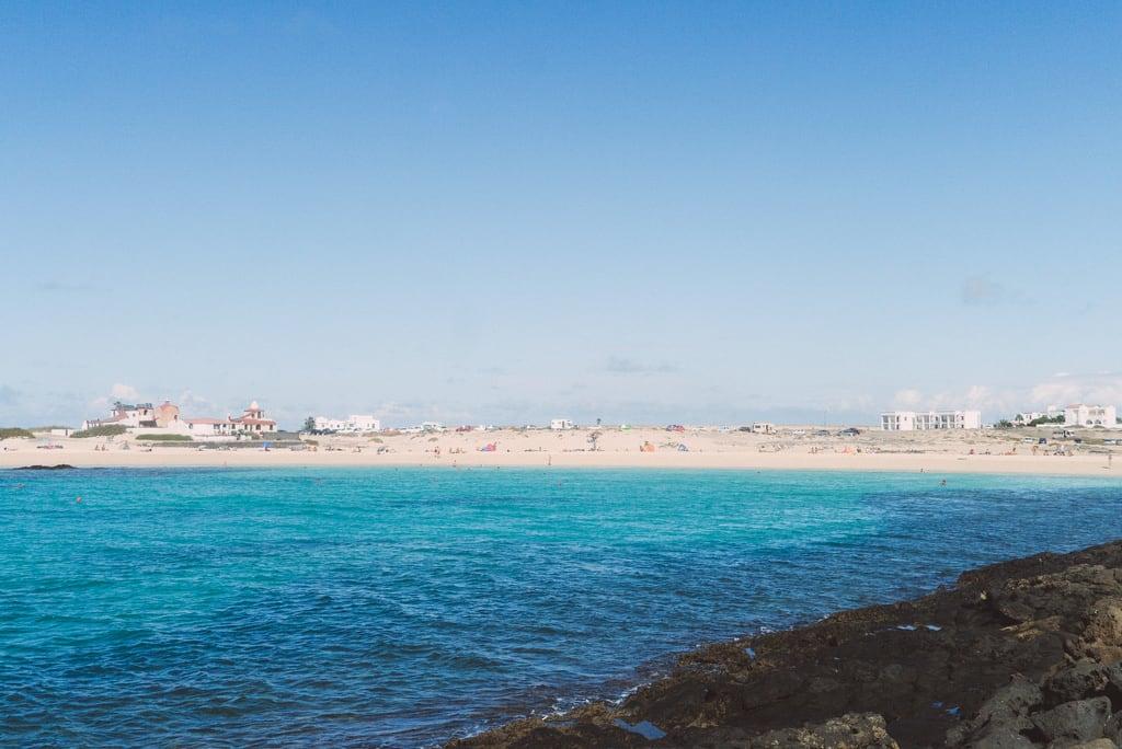 صورة La concha. beach fuerteventura lagoon laguna elcotillo