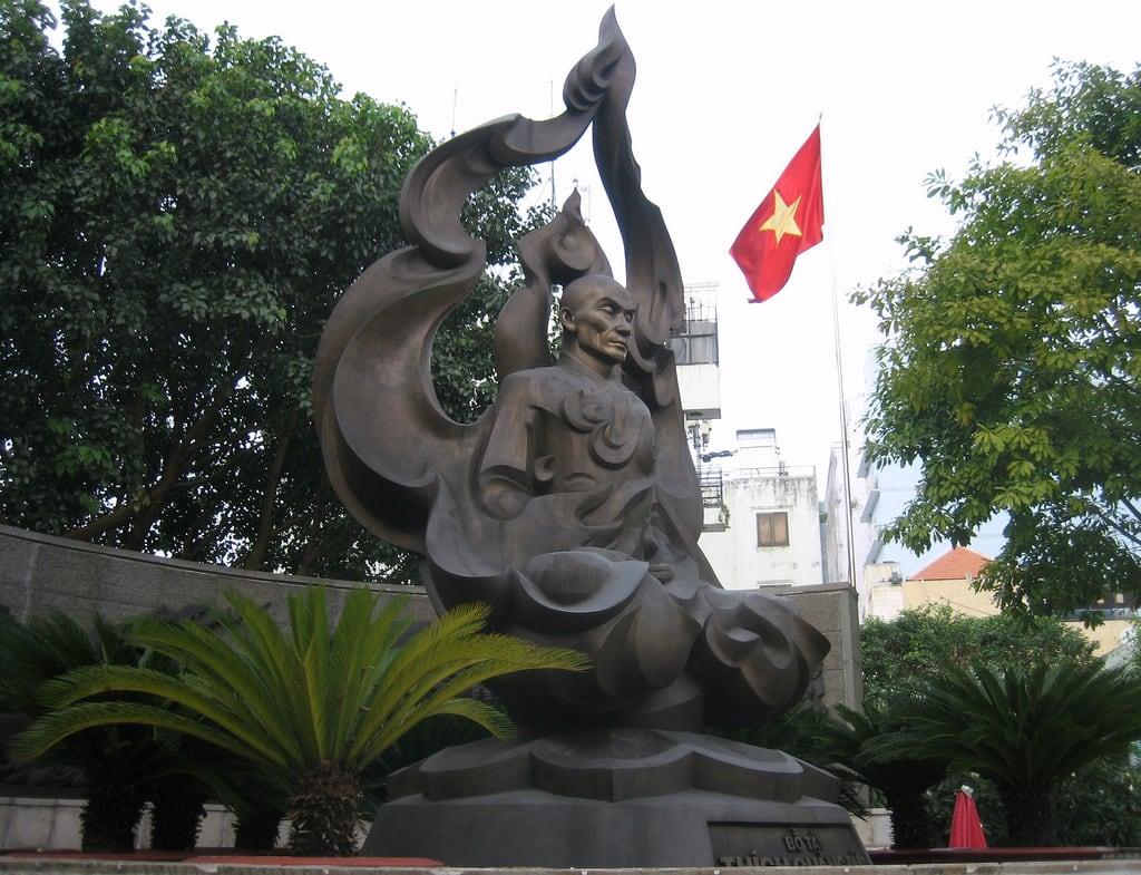 Imagine de Ho Chi Minh Statue. vietnam saigon hochiminhcity
