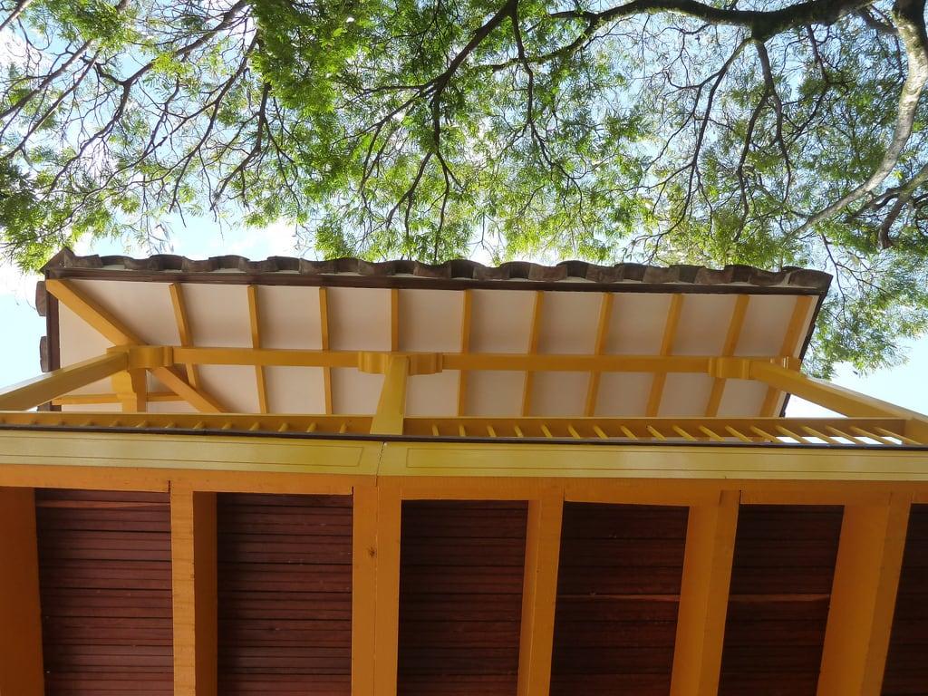 Image of Pueblito Paisa. house casa américa colombia balcony balcón medellín paisa
