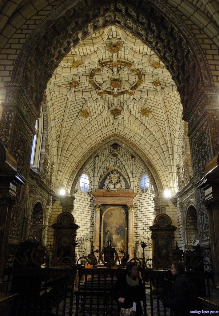 Obrázek Capilla de los Reyes Nuevos. españa spain cathedral gothic toledo espagne middleages castilla castillalamancha gótico provinciadetoledo