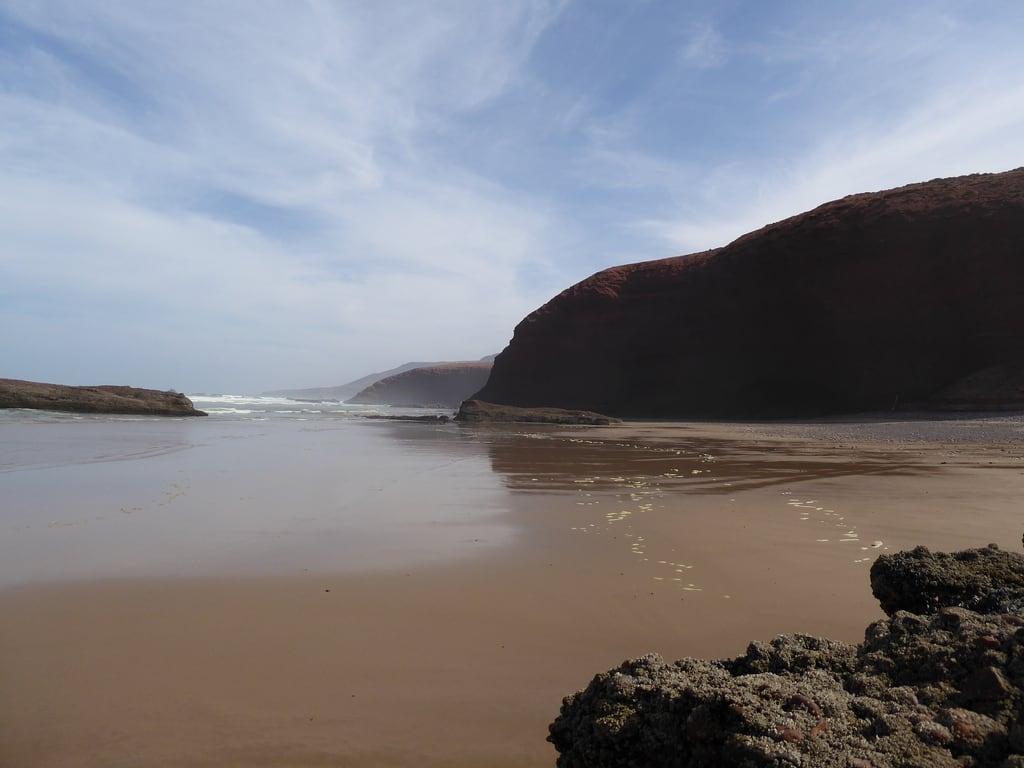 Imagine de Plaja cu o lungime de 1454 m.