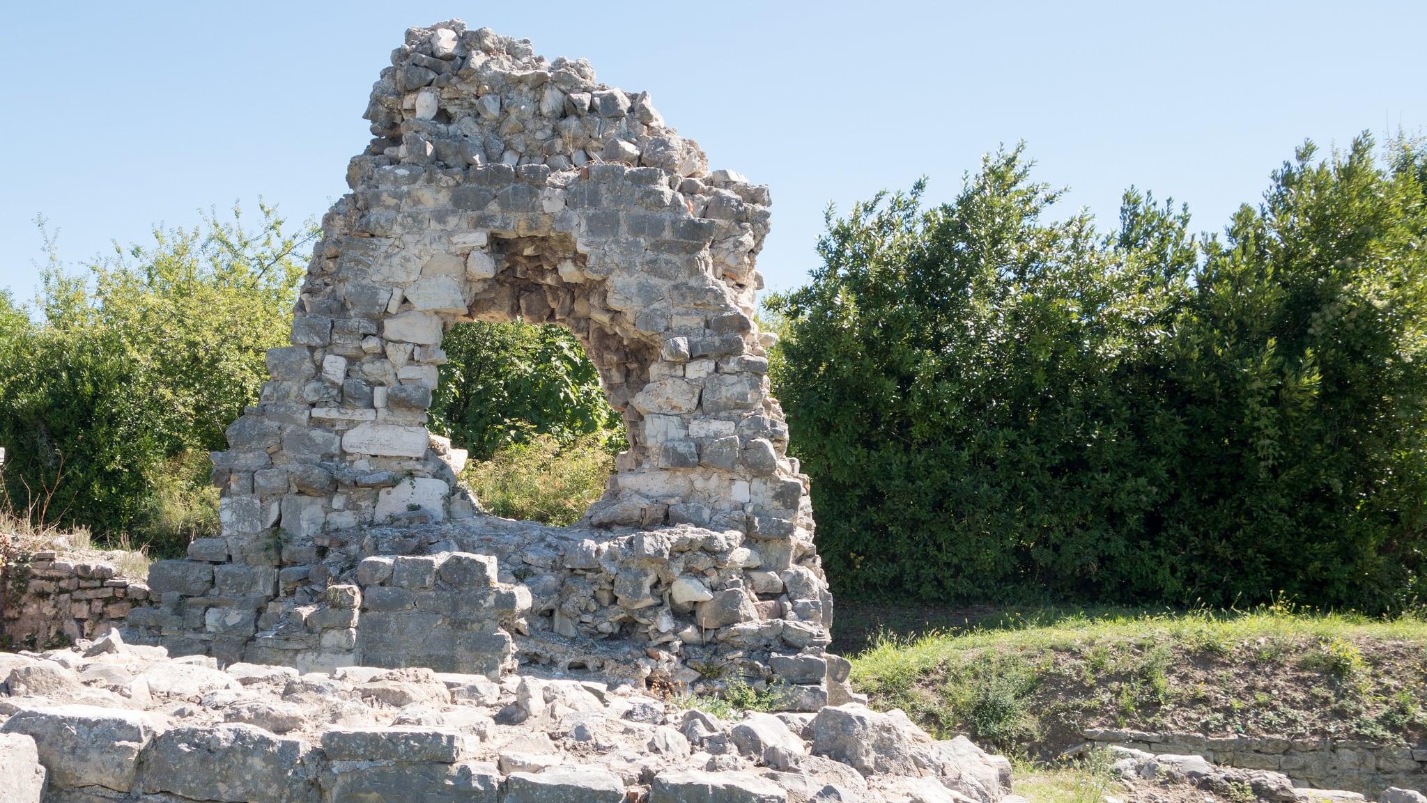 Image of Salona. archaeology croatia croatie archéologie salona solins salonaantica