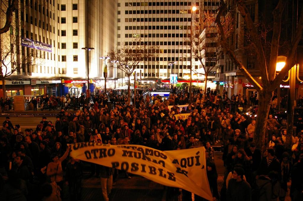 Imagem de Cubos. madrid street calle feminism fsm wsf manifestación acción forosocialmundial feminismos