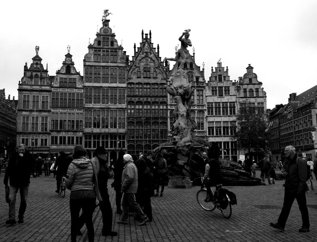 Image of Brabo. belgium belgique grandplace belgië antwerp brabo antwerpen grotemarkt anvers flanders belgien vlaanderen flandre giåm vlaamsgewest fontainebrabo guillaumebavière
