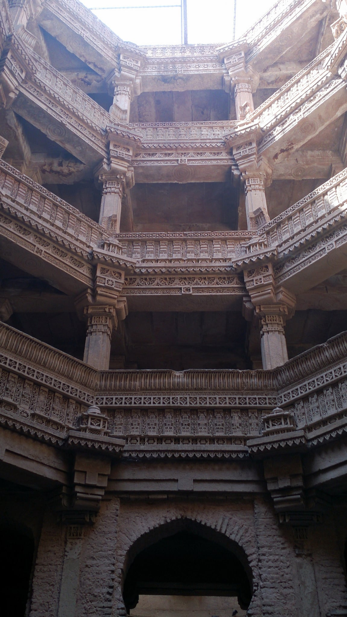 Image of Adalaj Stepped well. ahmedabad stepwell