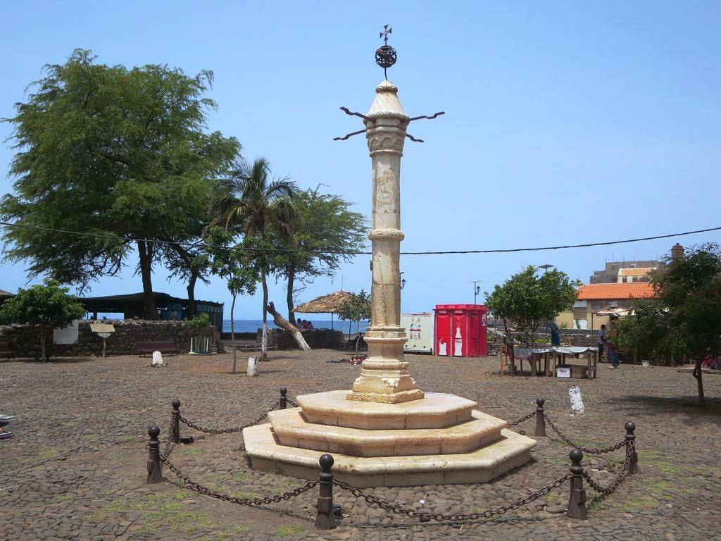 Bild av Pelourinho. santiago cidade verde island velha cape pelourinho pillery