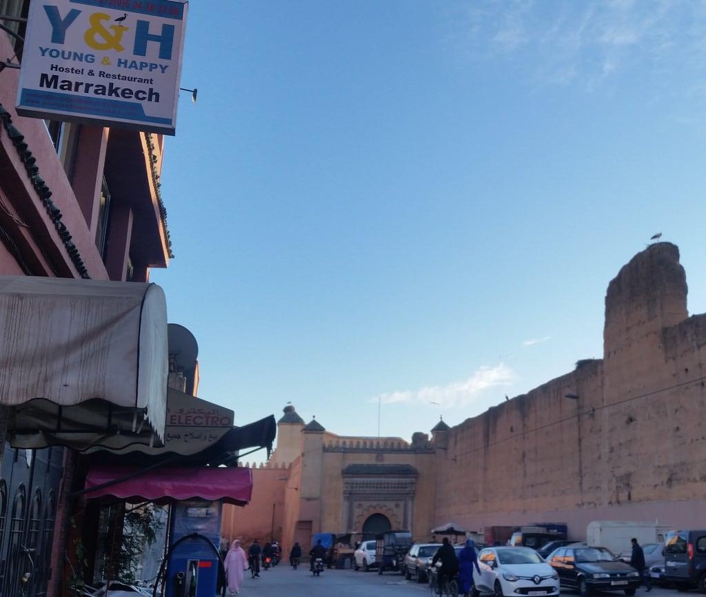 Attēls no El Badi Palace pie Marrakech-Medina.