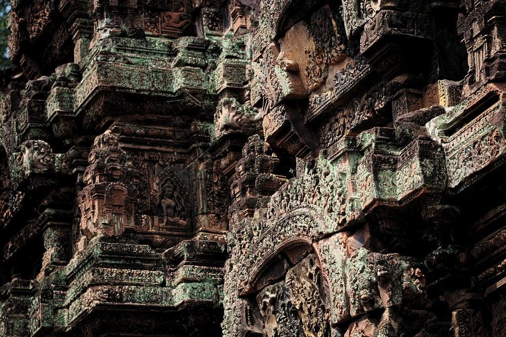 صورة Banteay Srei Temple. banteaysrei temple cambodia cambogia particolare canon eos6d 24105mm