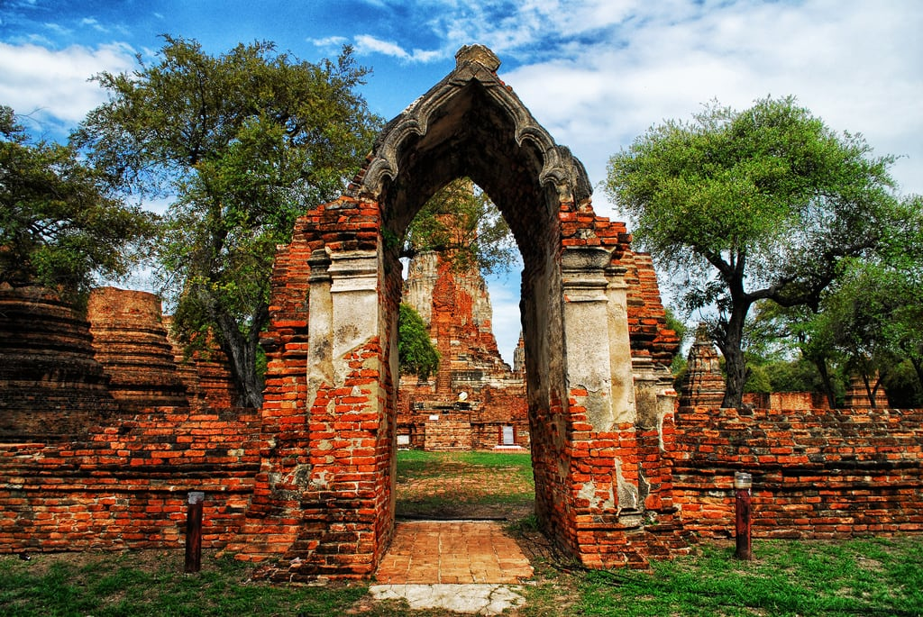 תמונה של Wat Phra Ram. thailand watphraram phranakhonsiayutthaya