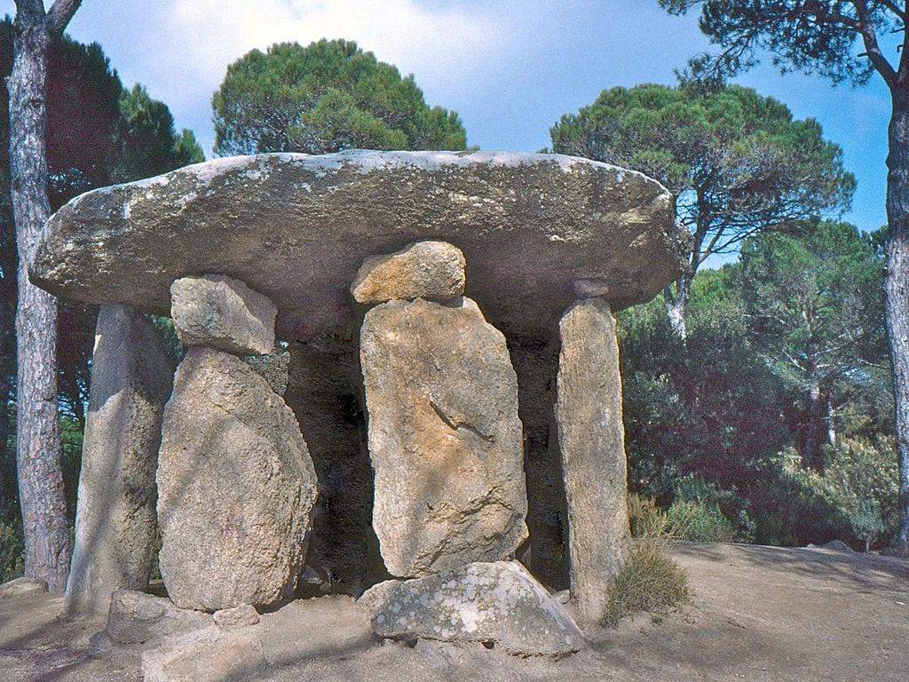 תמונה של Dolmen de Pedra Gentil. dolmen vallèsoriental catalunya