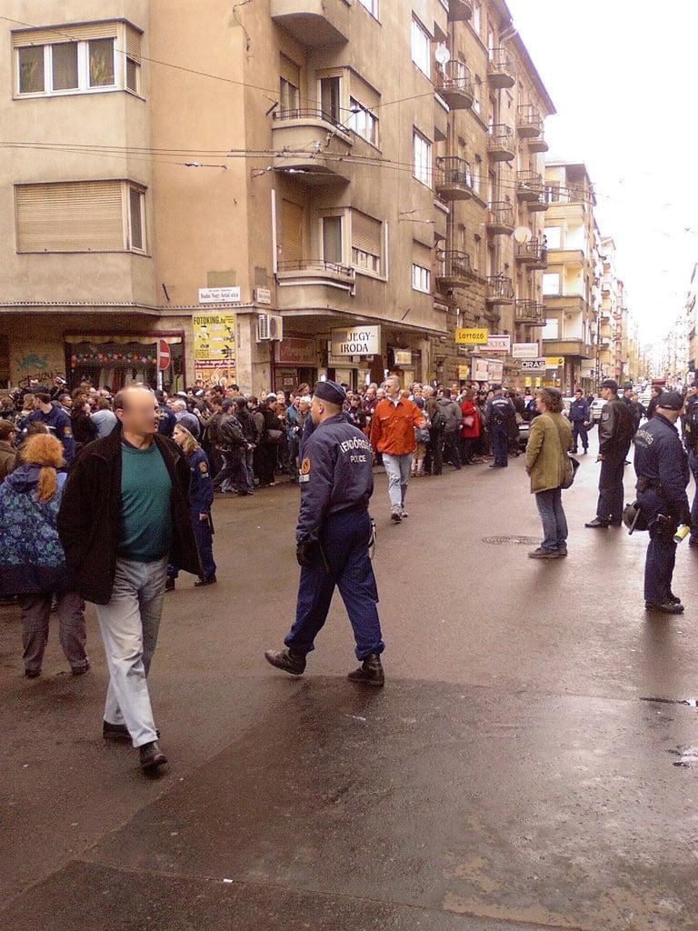 Kuva Rendőr. zsidó tünti