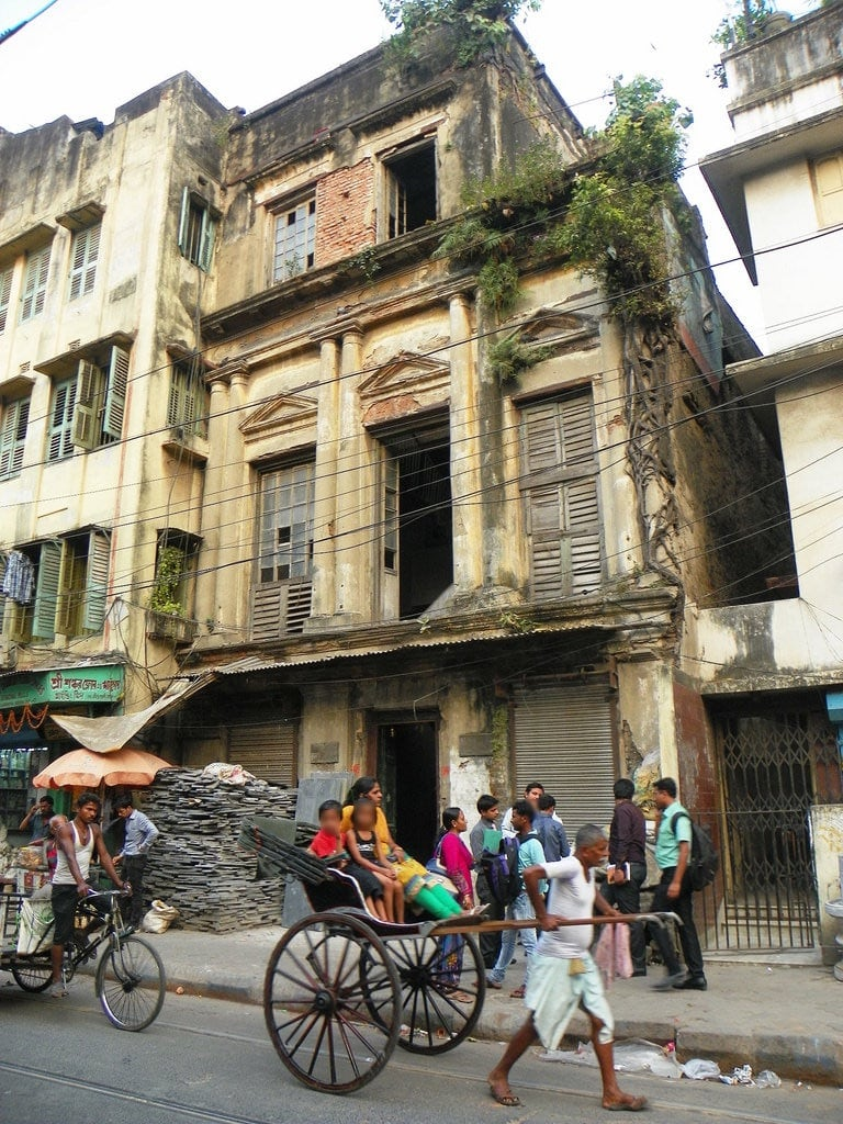 תמונה של Ghosh house. urban india man building architecture work bengal westbengal 2015 puccahouse