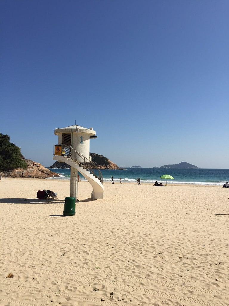 Attēls no Shek O Beach Sitting-out Area (石澳泳灘休憩處) Shek O Beach.