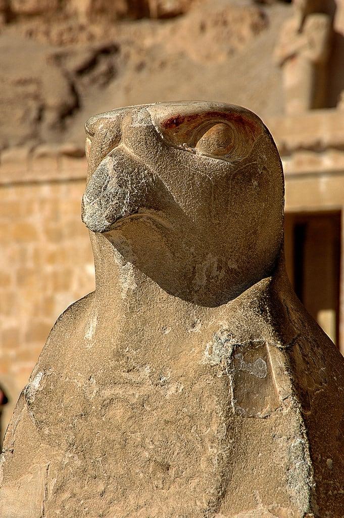 Изображение на Mortuary Temple of Hatshepsut. ralfstamm ägypten 2004 newvalleygovernorate eg