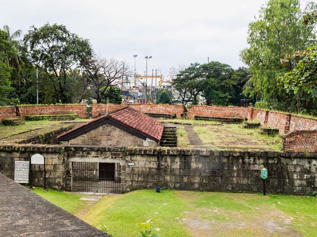 Bild av Fort Santiago.
