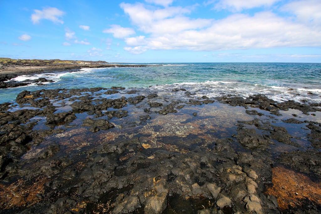 תמונה של Spot Jameos חוף באורך של מטר 350. sea beach mar agua lanzarote playa canaryislands jameos