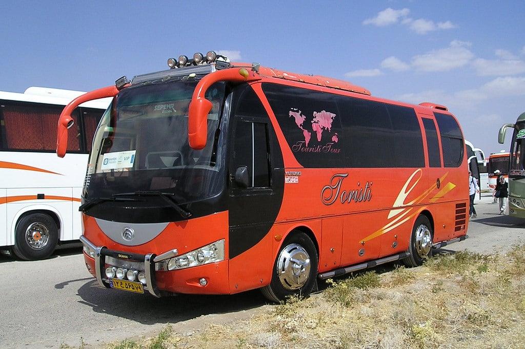 Image of Pasargadae. bus coachoperator touristcoach iran yutong pasargadae ایران محوطهجهانیپاسارگاد
