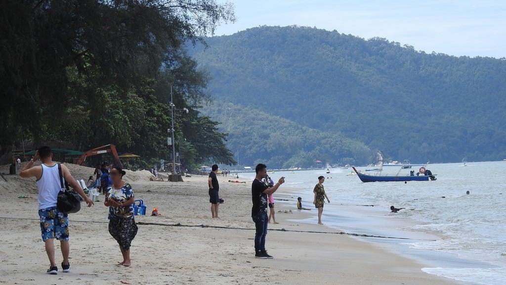 Batu Feringgi Beach képe. penang malaysia