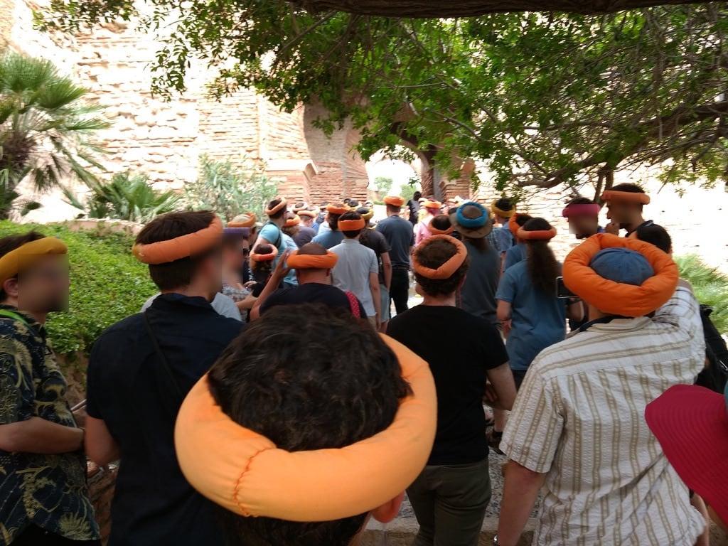 Imagine de Alcazaba de Almería. guadec 2018 almería alcazabadealmería