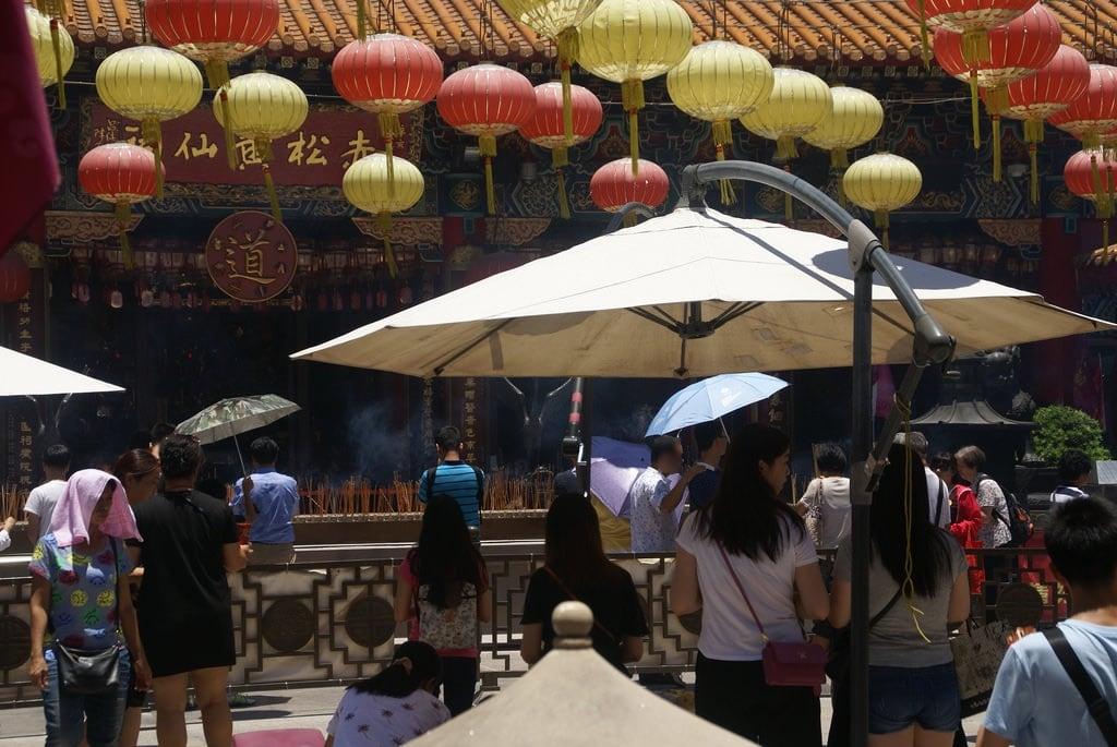 Sik Sik Wong Tai Sin Temple görüntü. hongkong 香港 geotagged geo:lat=22342472 geo:lon=114193405