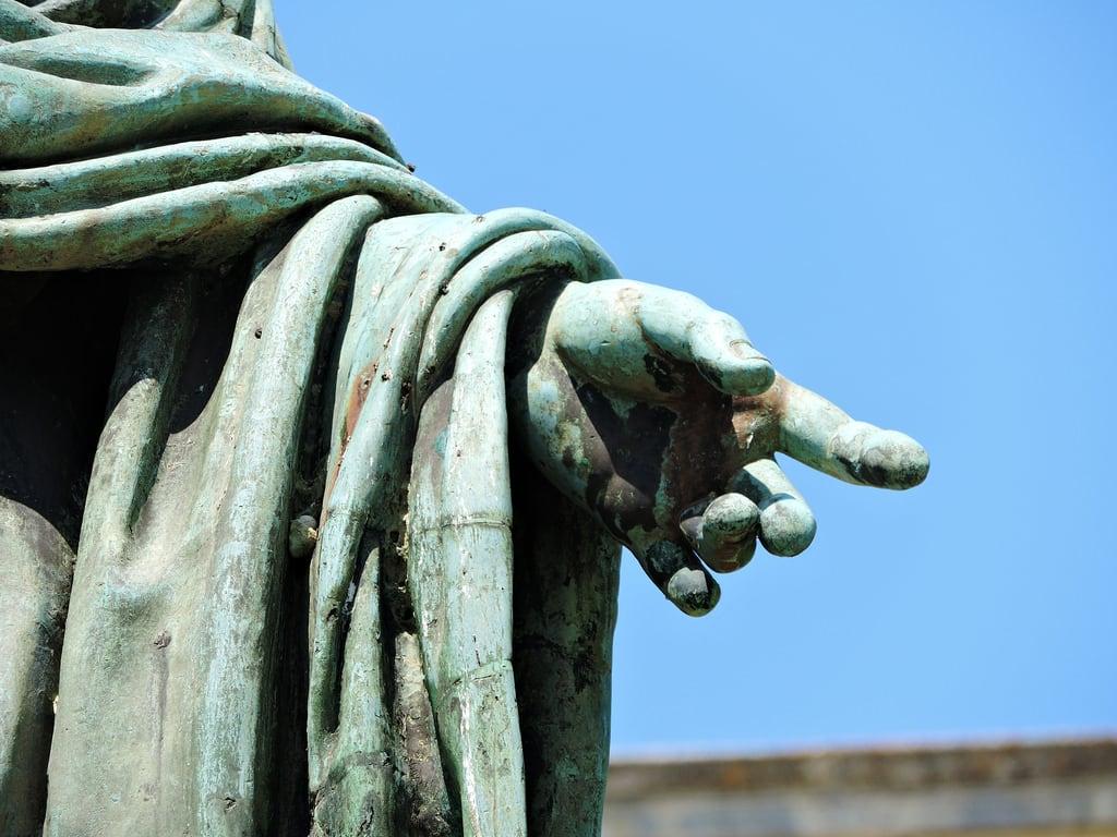 Obraz Sir Frederick Adam. κέρκυρα corfu ケルキラ島 kerkyra παύλοσπροσαλέντησ ανδριάντασ άγαλμα γλυπτό prosalentis sculpture statue closeup detail