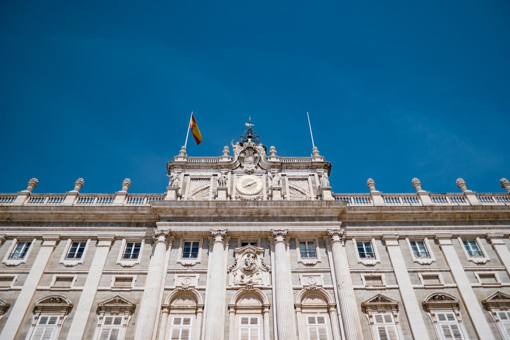 Image of Royal Palace near City Center. samsung samsungcamera samsungnx1 spain españa royalpalaceofmadrid madrid