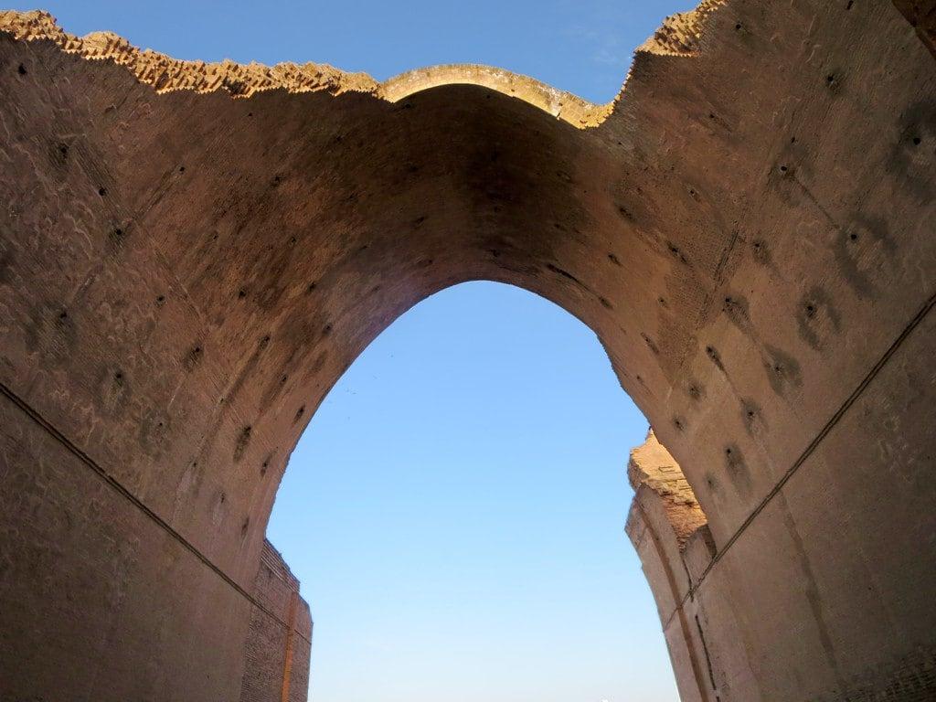 Image of Arch of Ctesiphon. arch ctesiphon baghdad iraq parthian