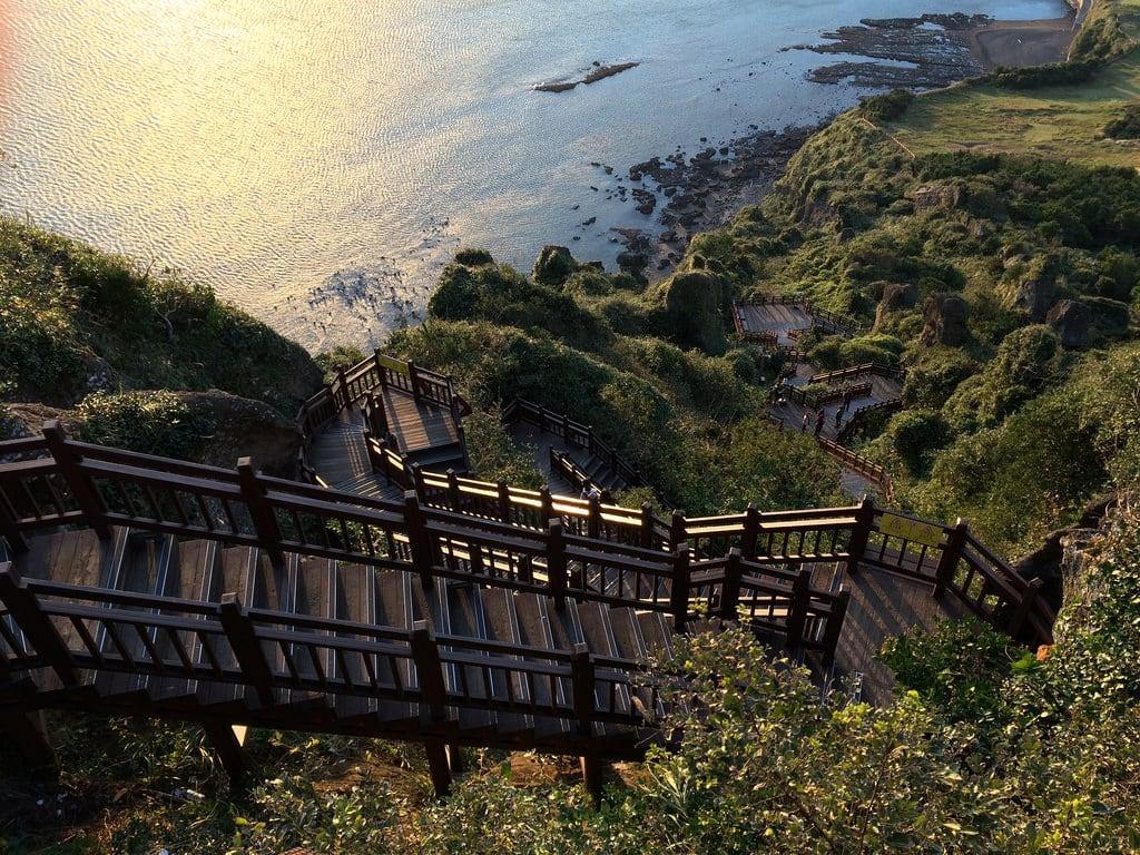 Εικόνα από Seongsan Ilchulbong Peak.