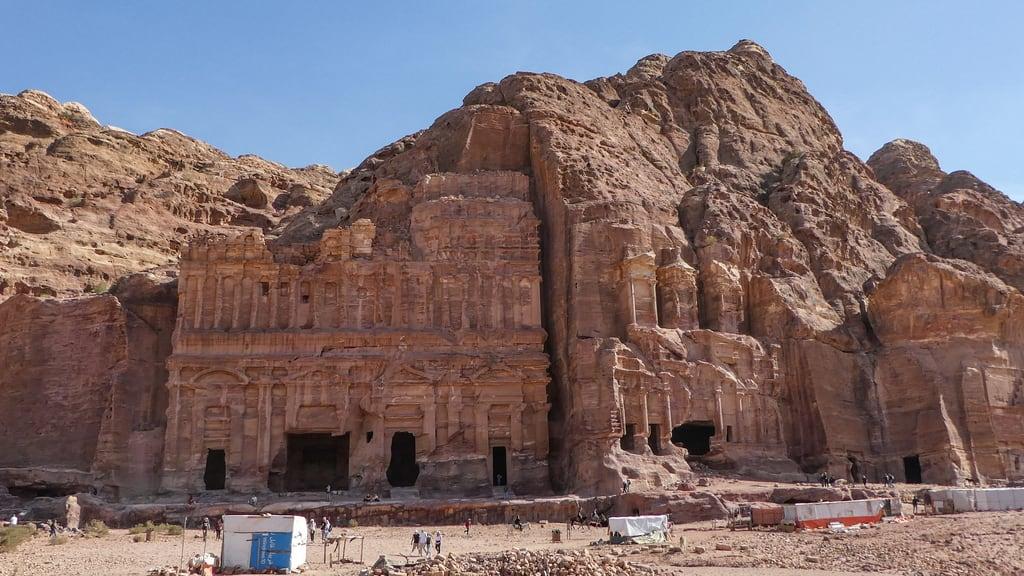Corinthian Tomb की छवि. petra jordanië المملكةالأردنيةالهاشمية jordan raqmu البتراء لواءالبتراء maangovernorate jo