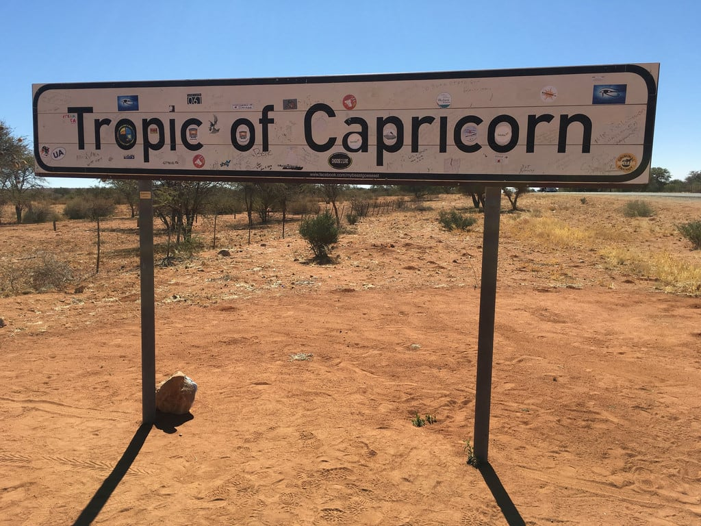 Image of Tropic of Capricorn. namibia africa tropicofcapricorn