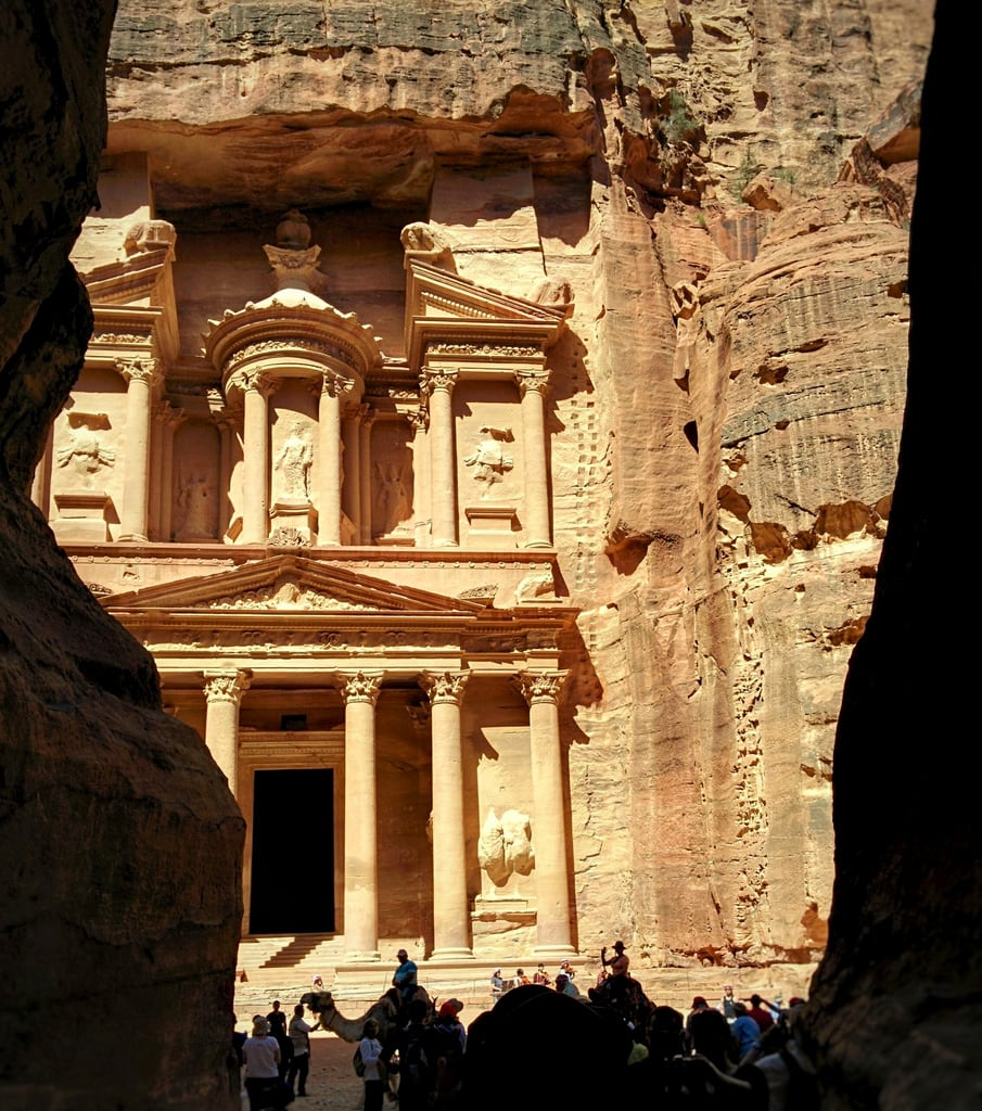Petra जवळ पेत्रा की छवि. countriesivevisited jordan petra treasury
