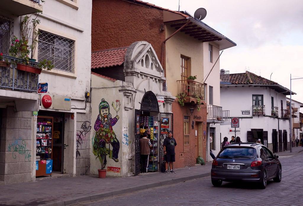 Image of Cuenca. cuenca ecuador southamerica graffiti wallart tiendas storefronts callelargacuenca fujixt1