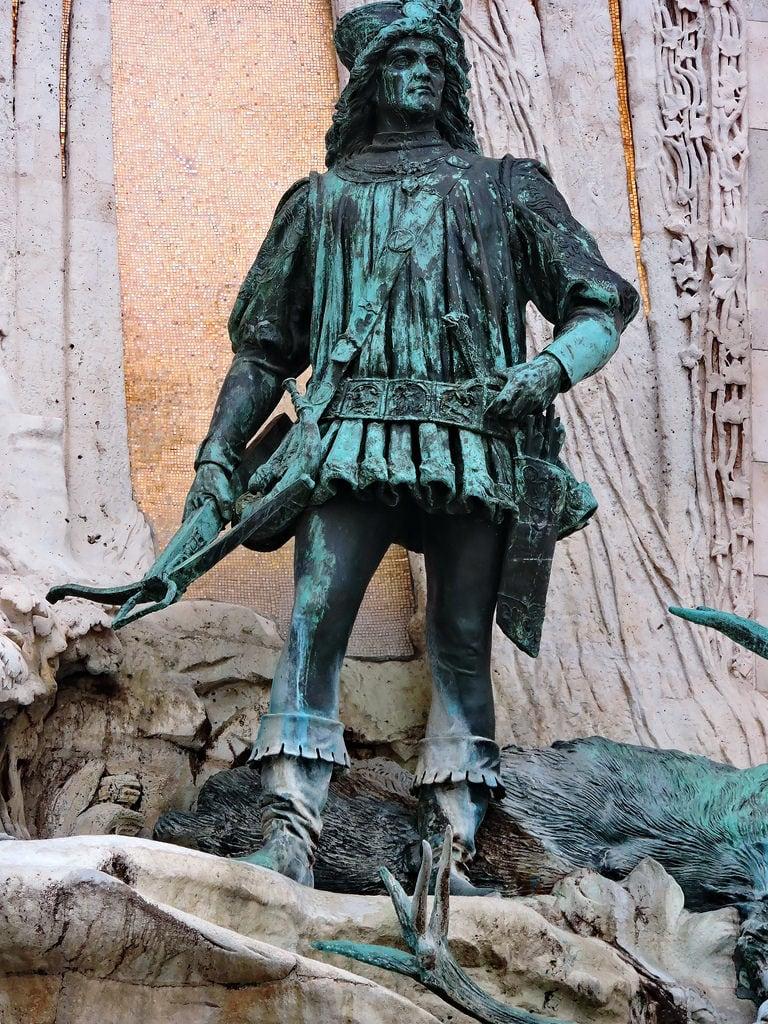 Image de Fontaine de Matthias. budapest ブダペスト βουδαπέστη sculpture statue