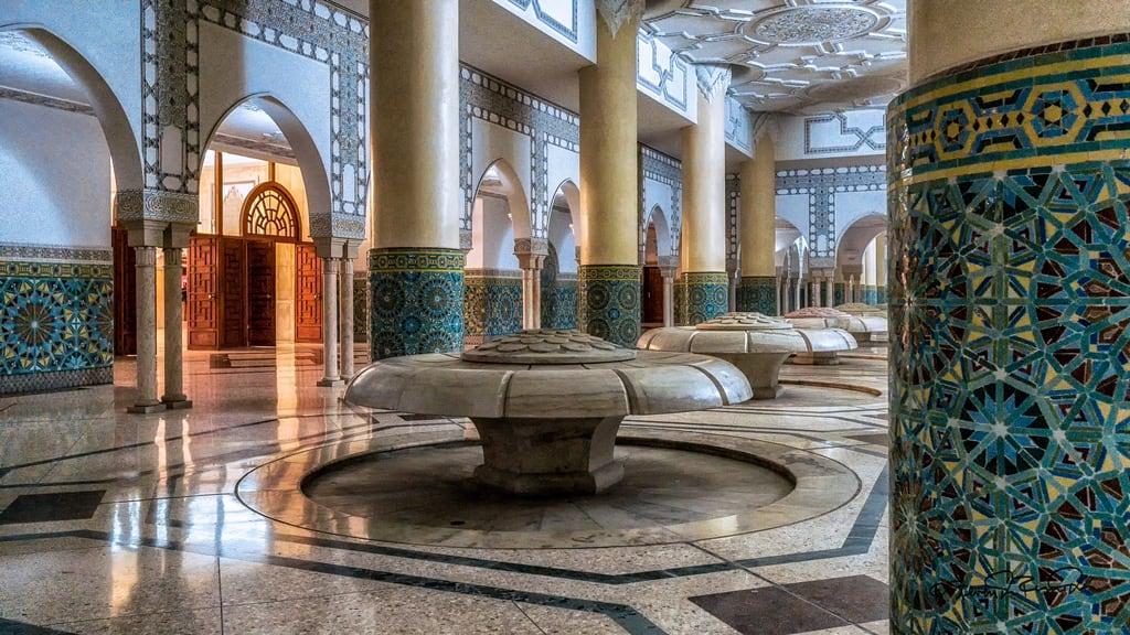 Obraz Hassan II Mosque. cstevendosremedios casablanca grandcasablanca morocco ma