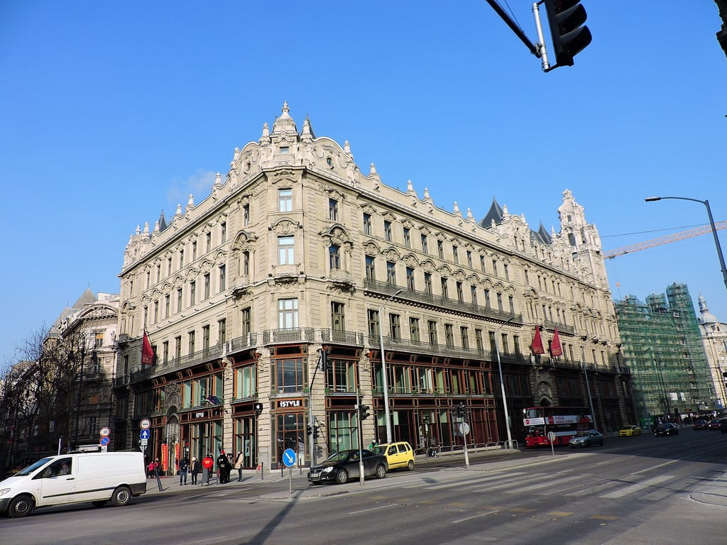 Kuva Klotild-palota. budapest ブダペスト βουδαπέστη building façade facade