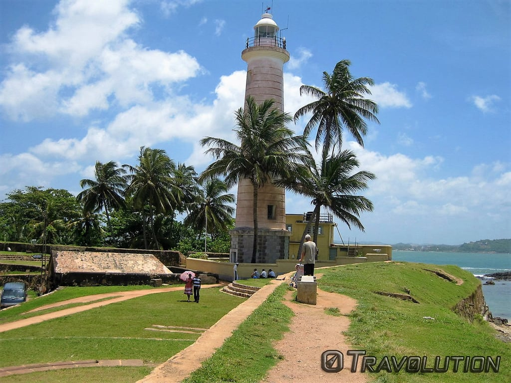 Image of Lighthouse Beach. sri lanka galle fort lighthouse historical coast world heritage dutch colonial defence
