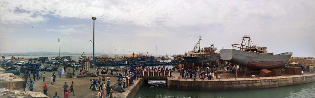 Bild von Skala Du Port. campingaourir morocco essaouira