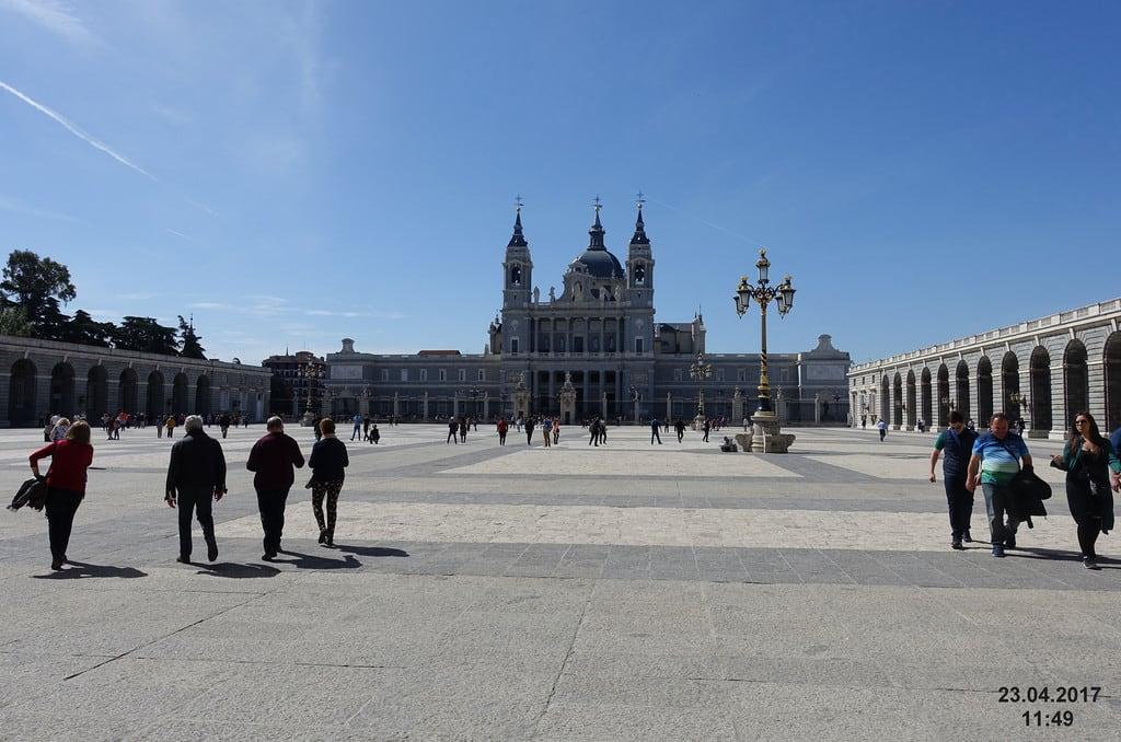 Image of Royal Palace near City Center. 2017 madrid spain royalpalace palacioreal
