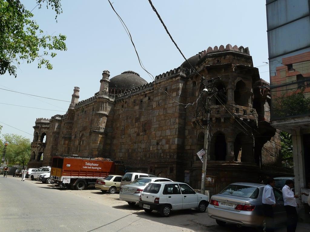 Изображение Moth Ki Masjid. delhi lodhi lodi masjidmoth southextensionpart2 mothkimasjid