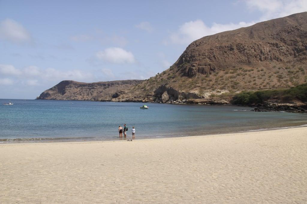 Bild av Praia do Tarrafal. capeverde tarrafal