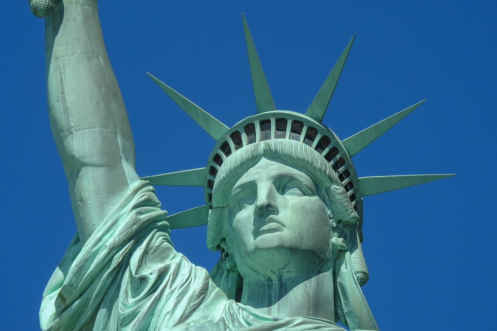Изображение Статуя Свободы. newyork newyorkcity statueofliberty usa worldheritage unitedstates us