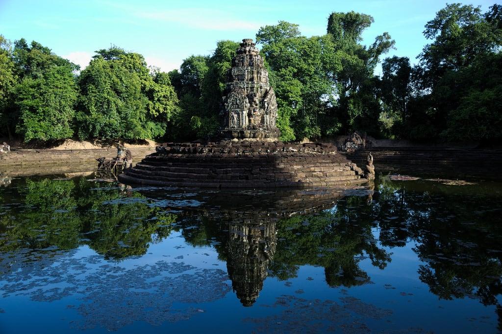 صورة Neak Pean Temple. neakpean ប្រាសាទនាគព័ន្ cambodia cambogia temple tempio water acqua canon eos6d 24105mm