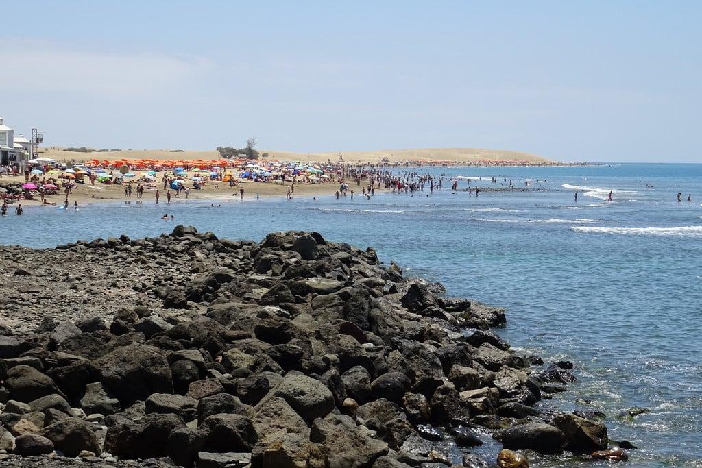 Hình ảnh của Gay Beach Maspalomas.