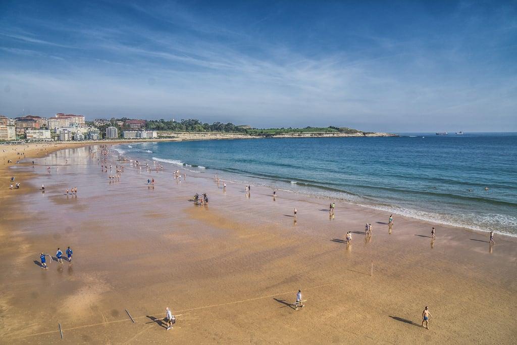 Playa de La Concha görüntü.