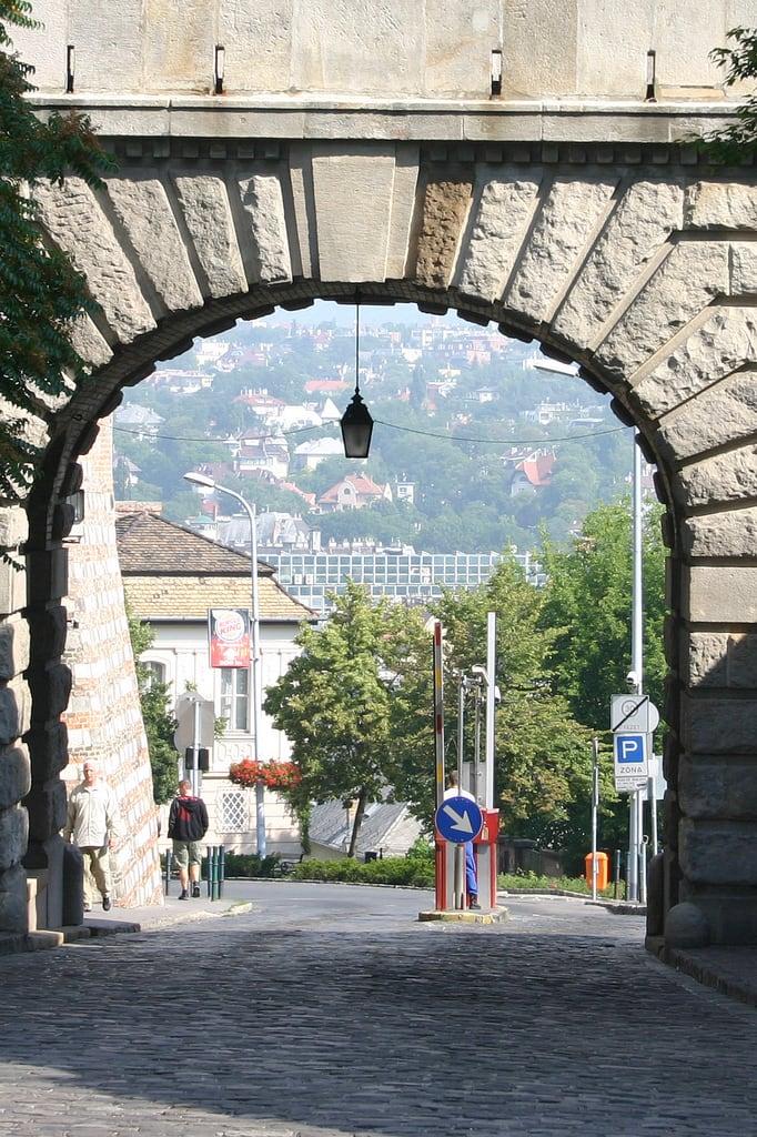Image of Vienna Gate. europe hungary budapest hun