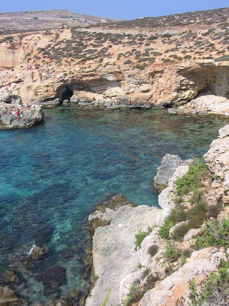 Daħlet Qorrot 的形象. geotagged island malta isla comino geo:lat=36046323 geo:lon=14327545
