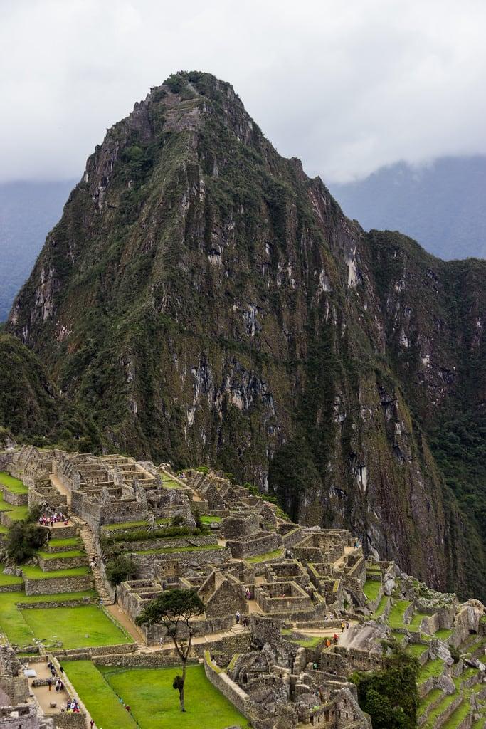 Image of Machu Picchu. machupicchu huaynapicchu